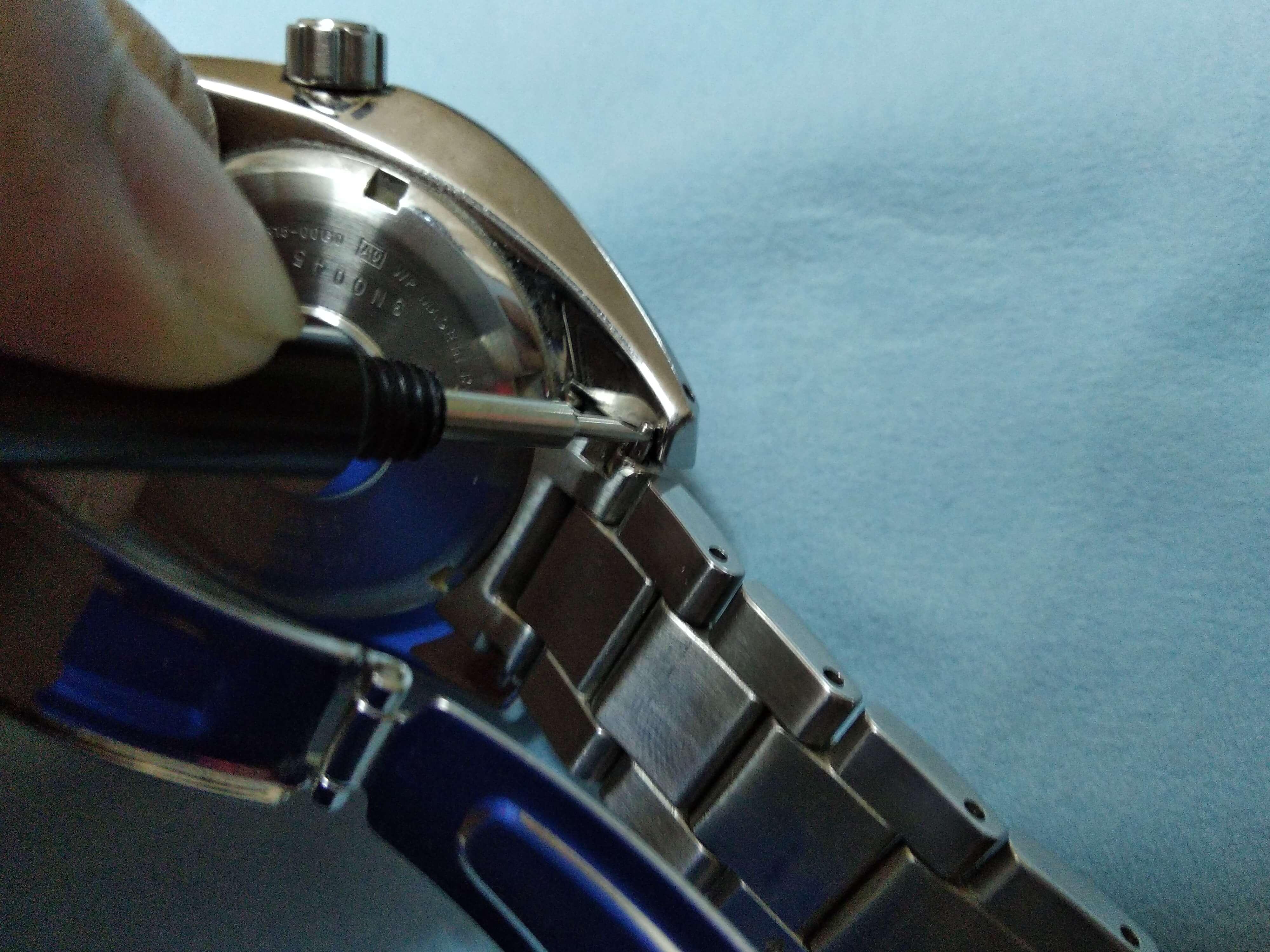 Seiko Bracelet Removal 1.1