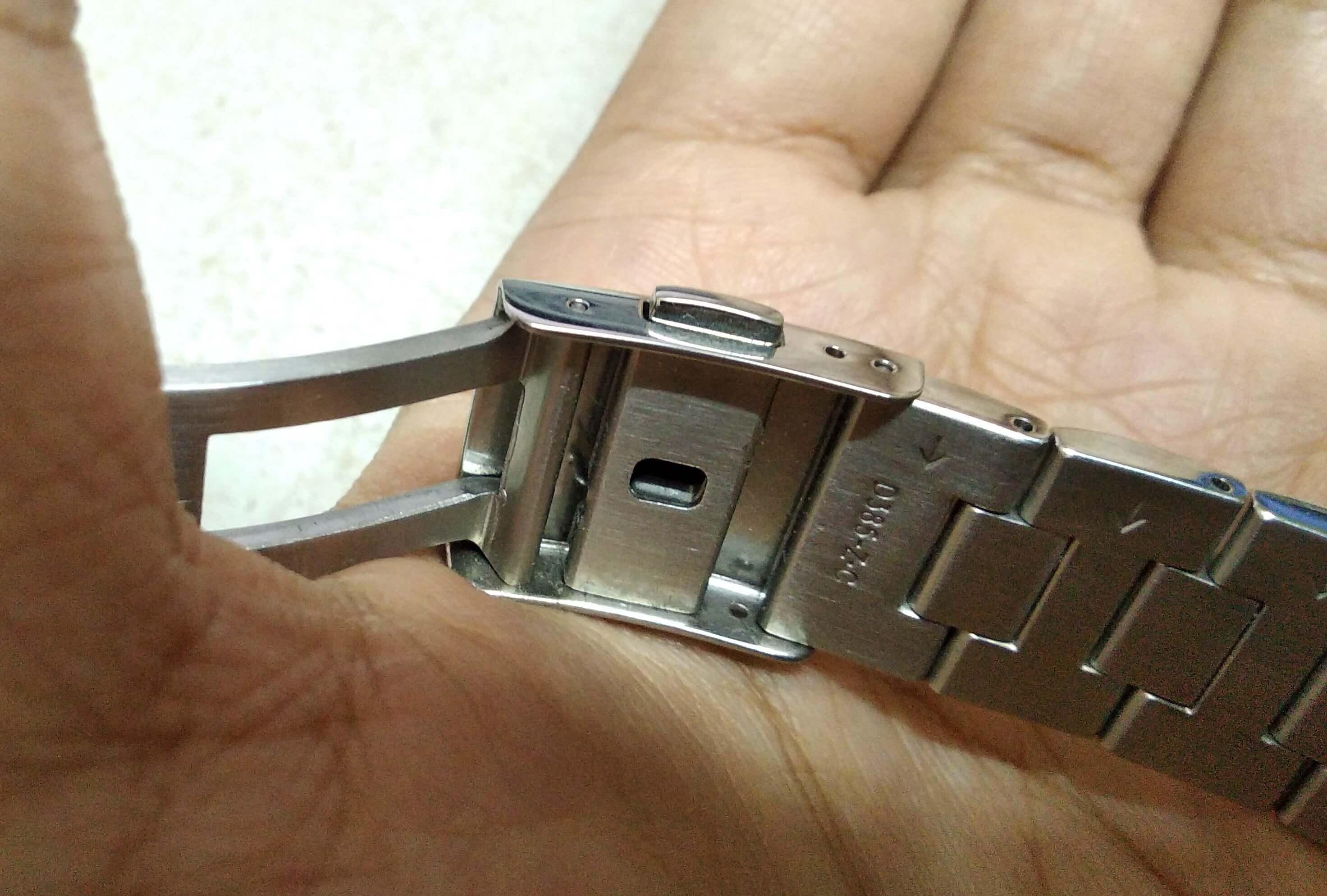 Seiko SARB033 micro adjuster