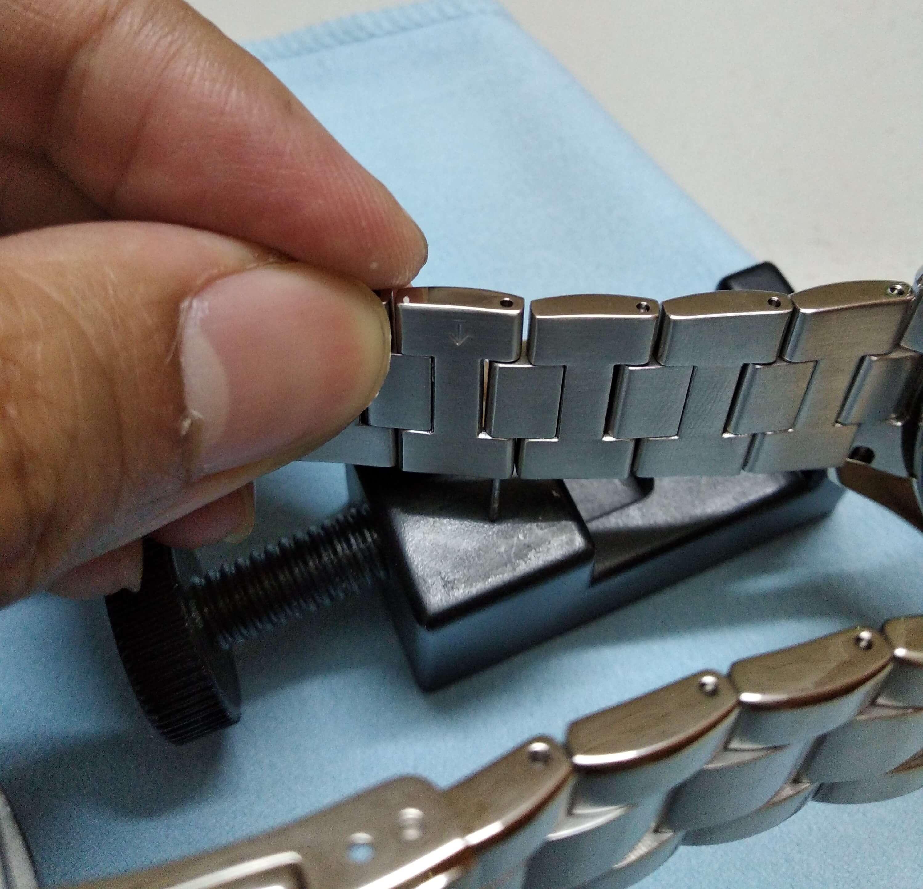 Seiko SARB033 resize bracelet 7