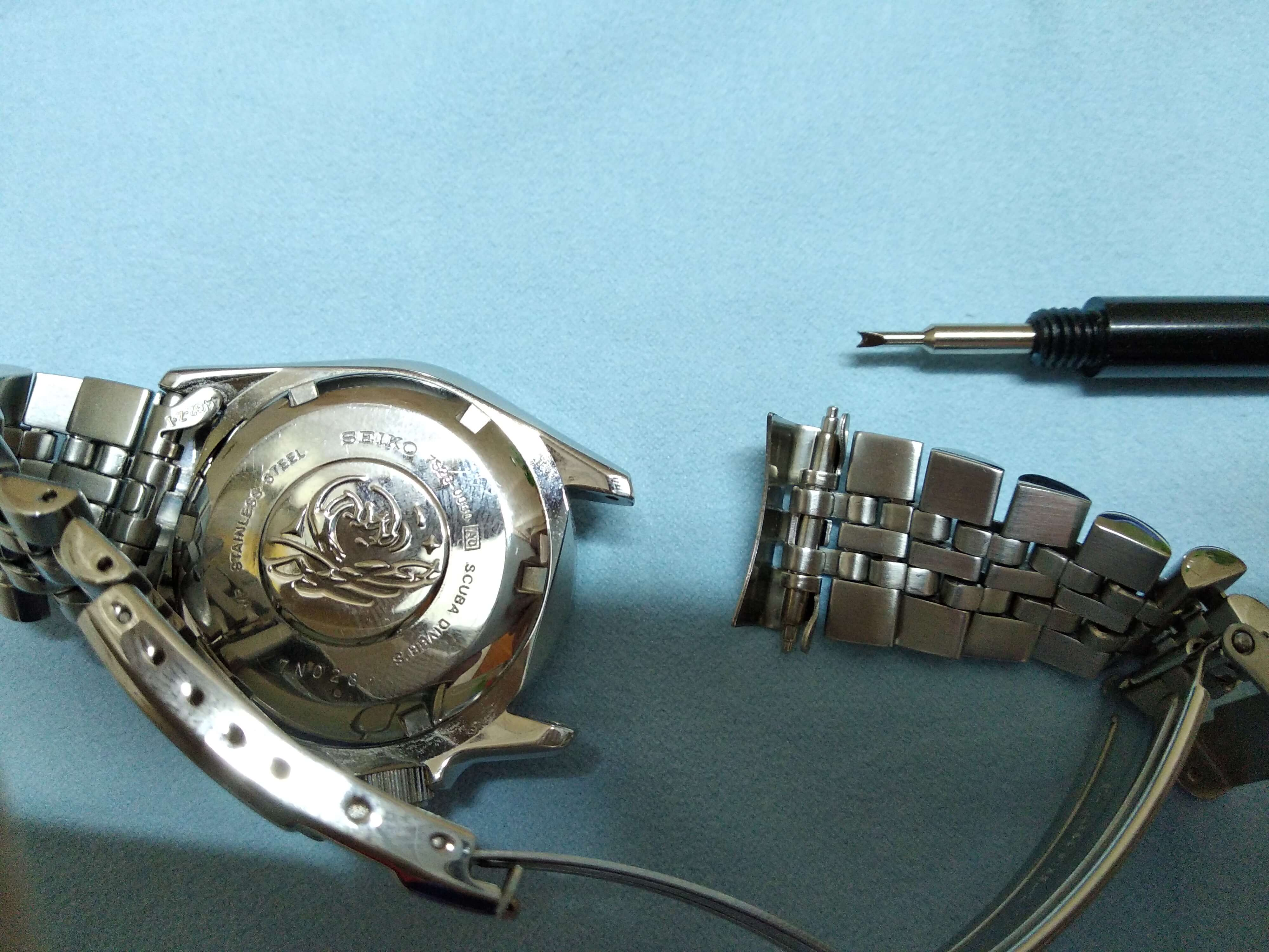 Seiko SKX013 Bracelet spring bar