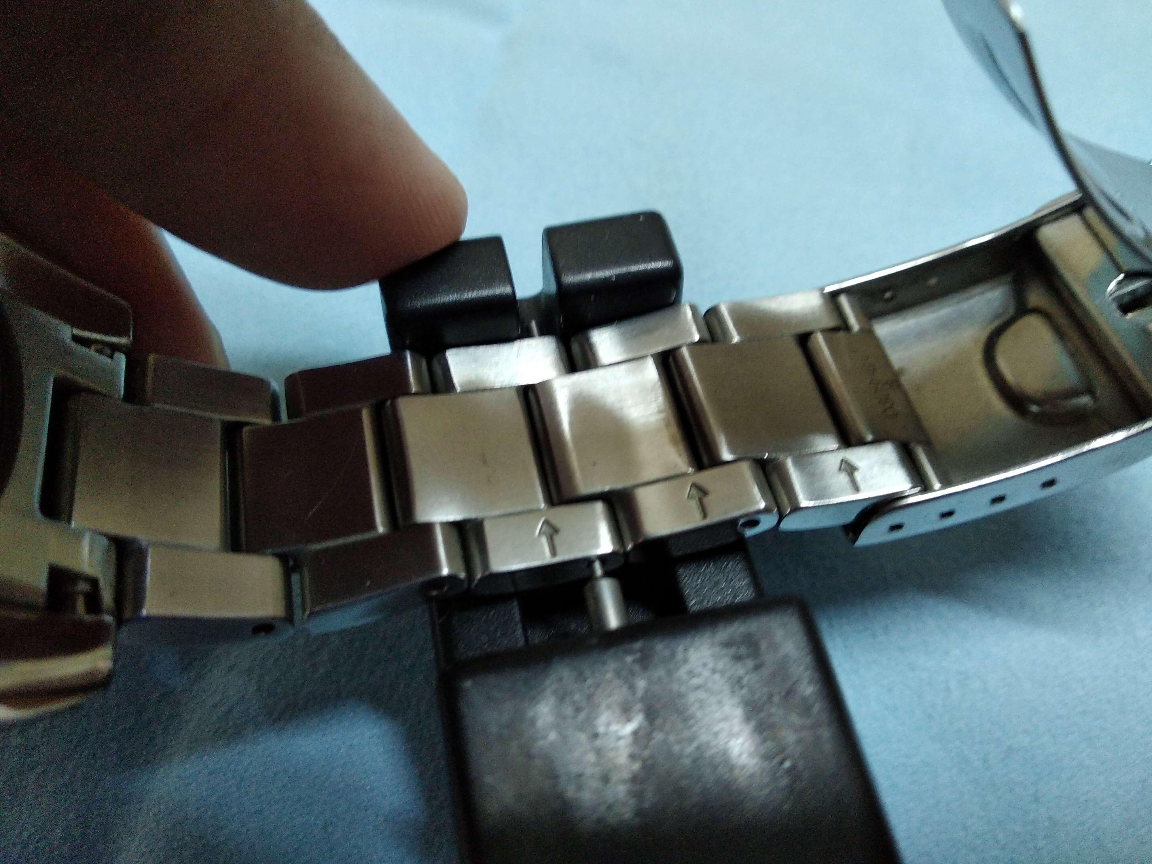 Seiko Sumo Adjust bracelet 2