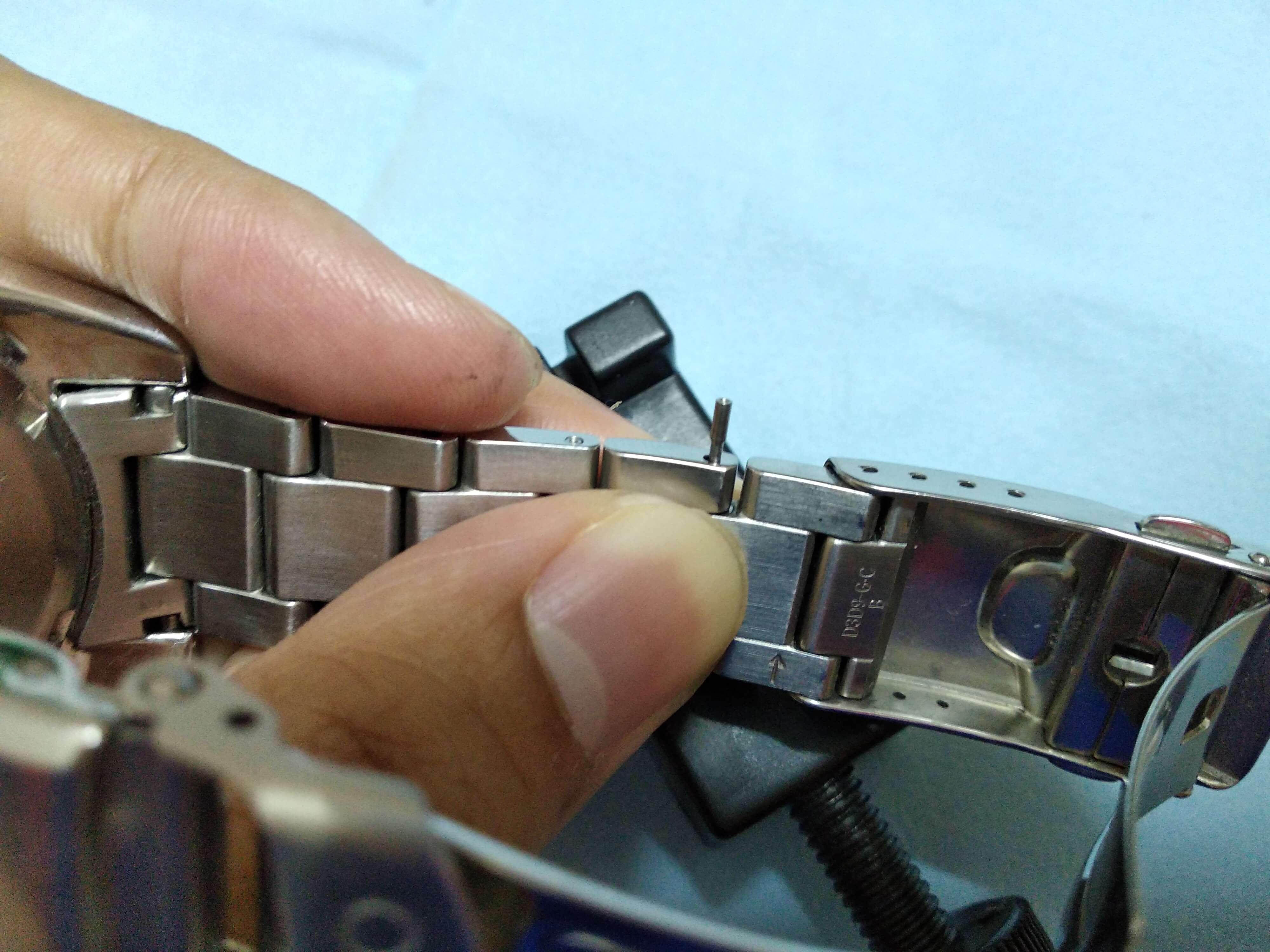 Seiko Sumo Adjust bracelet 5