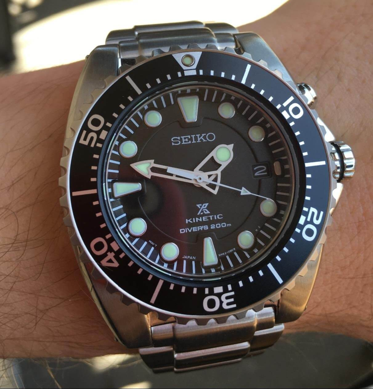 Seiko SKA371 On hand