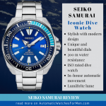 Seiko Samurai Review