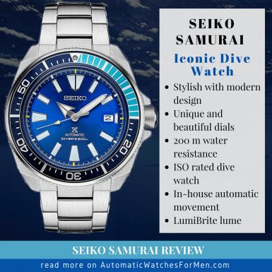 Seiko Samurai Review