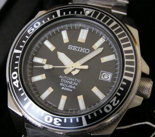 Seiko Samurai SBDA Titanium 2004 Original