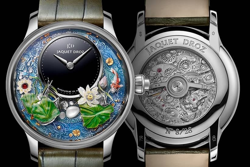 Jaquet Droz Magic Lotus Automaton Watch